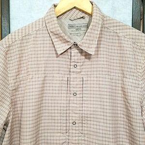 511 Tactical Series snap front short sleeve shirt